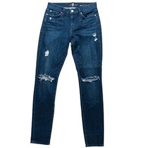 7 For All Mankind Women's 31 The Skinny Jeans
